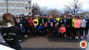 Le CRU chapellois et les 1000 pattes réunis pour le plaisir de courir